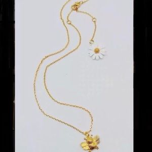 Kate Spade Honey Bee Necklace. NWT